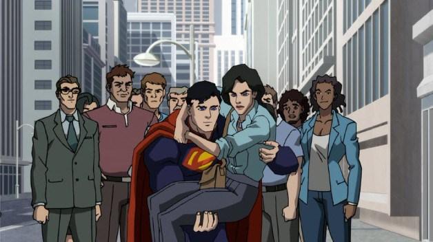 Première image de Death of Superman, nouvelle adaptation du comics